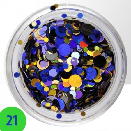 Konfety mix 21 NechtovyRAJ.sk - Daj svojim nechtom všetko, čo potrebujú
