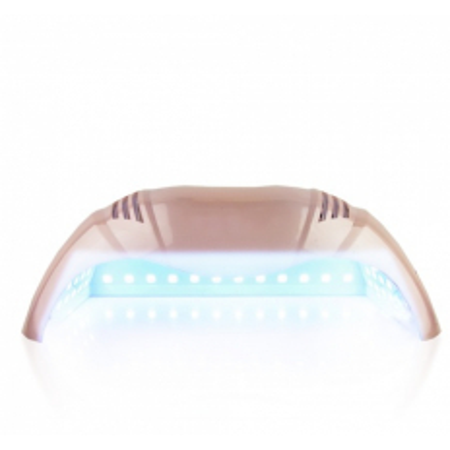 UV - LED LAMPA na dve ruky 72 W - ružová