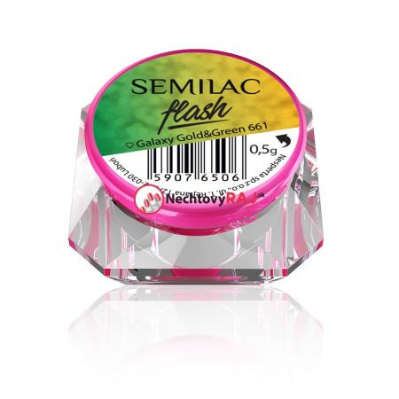 SemiFlash Galaxy Gold & Green 661