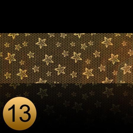 Transfer fólia na nechty čipkováná zlatá 13 NechtovyRAJ.sk - Daj svojim nechtom všetko, čo potrebujú