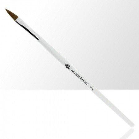 Štetec na akryl č. 10 - biely NechtovyRAJ.sk - Daj svojim nechtom všetko, čo potrebujú