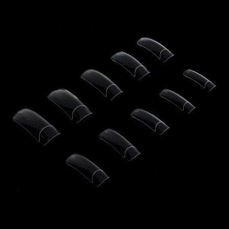 Priesvitné tipy 500 ks - dlhá zarážka NechtovyRAJ.sk - Daj svojim nechtom všetko, čo potrebujú
