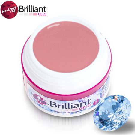 Uv gél Briliant cover pink 30 ml