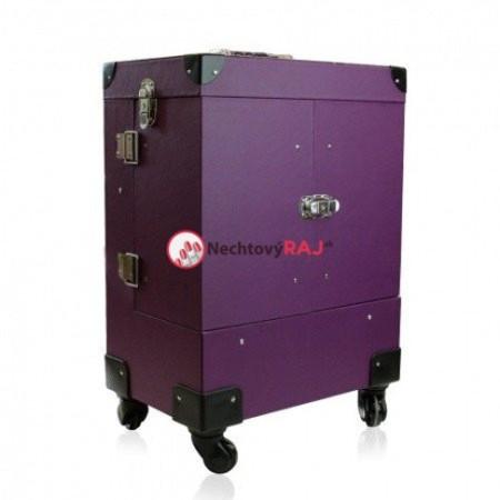 Kozmetický kufrík Lux fialový 02 NechtovyRAJ.sk - Daj svojim nechtom všetko, čo potrebujú