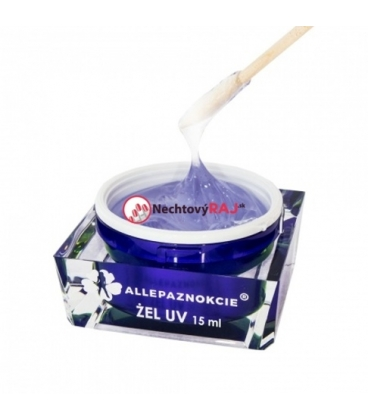 AP Uv gél 100 - Jelly clear glass 15 ml