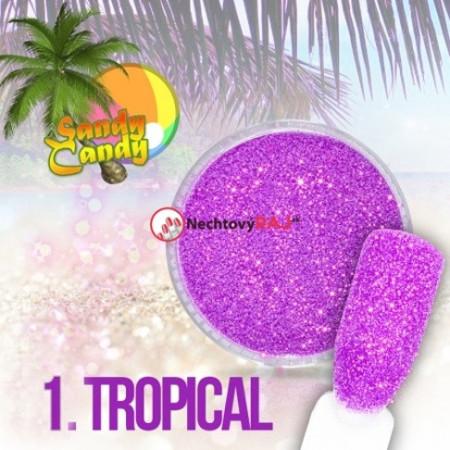 Prášok Sugar effect Sandy Candy 01 NechtovyRAJ.sk - Daj svojim nechtom všetko, čo potrebujú