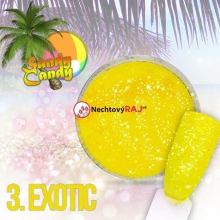 Prášok Sugar effect Sandy Candy 03 NechtovyRAJ.sk - Daj svojim nechtom všetko, čo potrebujú