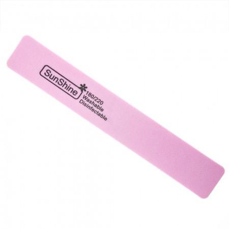 Pilník hranatý penový 180/220  ružový