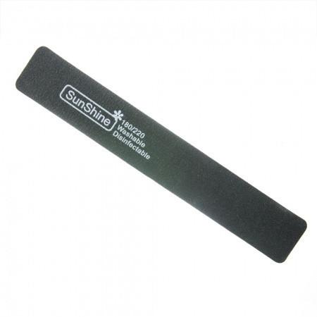 Pilník hranatý penový 180/220 čierny NechtovyRAJ.sk - Daj svojim nechtom všetko, čo potrebujú