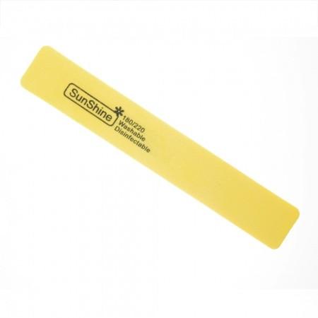 Pilník hranatý  penový 180/220 žltý