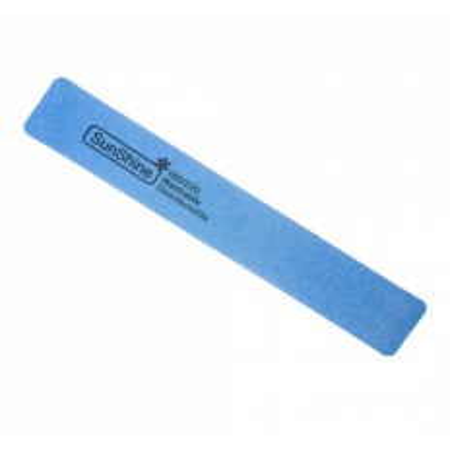 Pilník hranatý penový 180/220 modrý NechtovyRAJ.sk - Daj svojim nechtom všetko, čo potrebujú