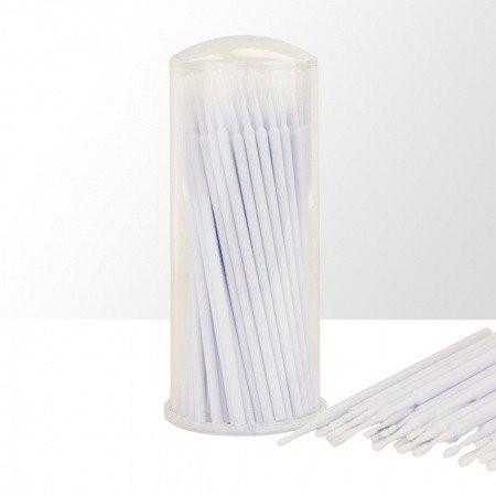 Mikro kefky na mihalnice biele 100 ks NechtovyRAJ.sk - Daj svojim nechtom všetko, čo potrebujú