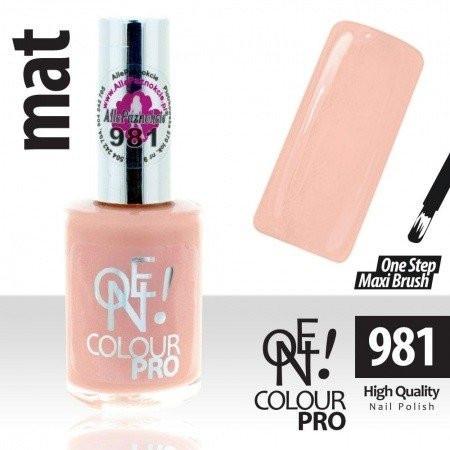 Lak na nechty-ONE COLOUR Pro 981