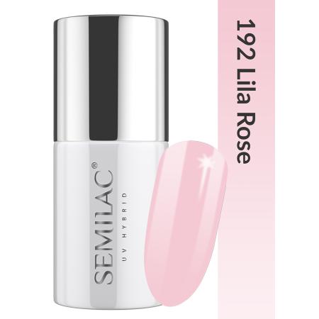 Semilac - gél lak Bussiness line 192 Lila Rose 7 ml