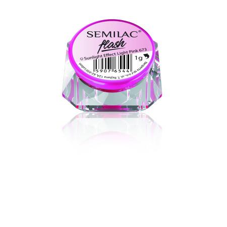 SemiFlash Sunlight effect light pink 673