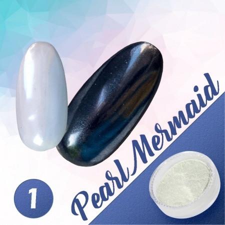 Pigmentový prášok Pearl Mermaid 1 NechtovyRAJ.sk - Daj svojim nechtom všetko, čo potrebujú