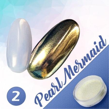 Pigmentový prášok Pearl Mermaid 2