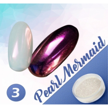 Pigmentový prášok Pearl Mermaid 3 NechtovyRAJ.sk - Daj svojim nechtom všetko, čo potrebujú