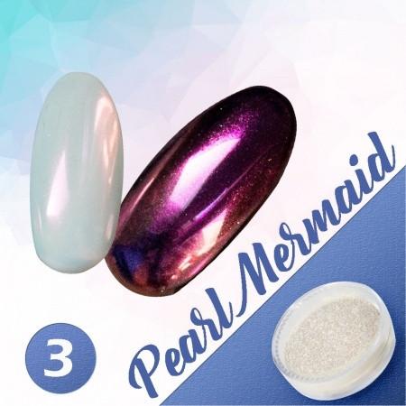 Pigmentový prášok Pearl Mermaid 3