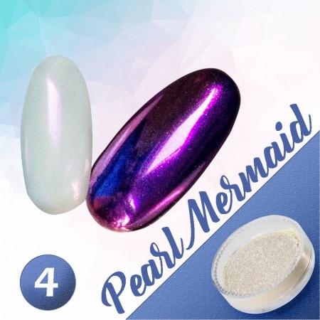 Pigmentový prášok Pearl Mermaid 4 NechtovyRAJ.sk - Daj svojim nechtom všetko, čo potrebujú