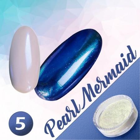 Pigmentový prášok Pearl Mermaid 5 NechtovyRAJ.sk - Daj svojim nechtom všetko, čo potrebujú
