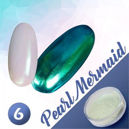 Pigmentový prášok Pearl Mermaid 6 NechtovyRAJ.sk - Daj svojim nechtom všetko, čo potrebujú