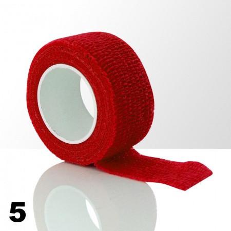 Ochranná páska na prsty - červená