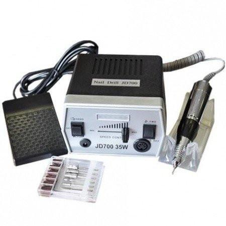 Elektrická brúska na nechty JD 700 čierna NechtovyRAJ.sk - Daj svojim nechtom všetko, čo potrebujú