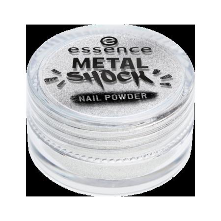 Prášok na nechty - Metal shock