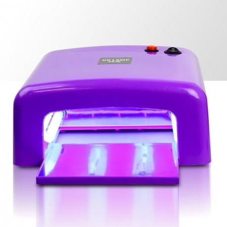 UV lampa 36W Profesional 2 hranatá - fialová NechtovyRAJ.sk - Daj svojim nechtom všetko, čo potrebujú