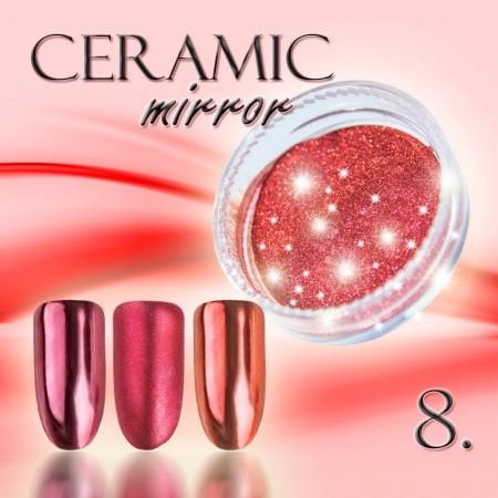 Ceramic mirror prášok 08