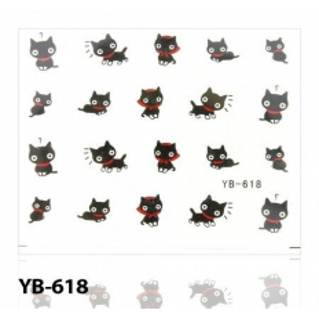 Vodolepky mačička 618