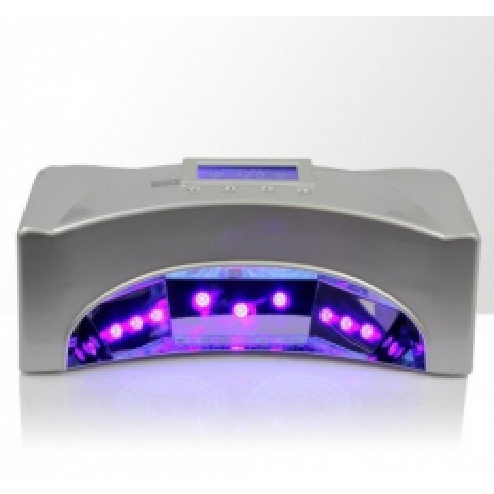 UV LED LAMPA 66 W strieborná