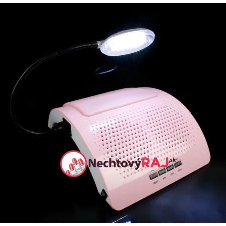 Odsávačka prachu s led lampou - Výkon 65 W - ružová