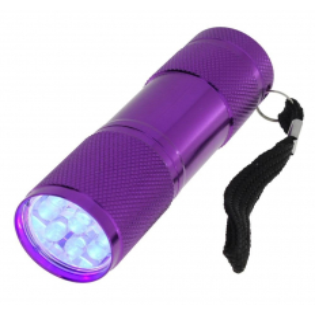 Mini UV LED baterka fialová