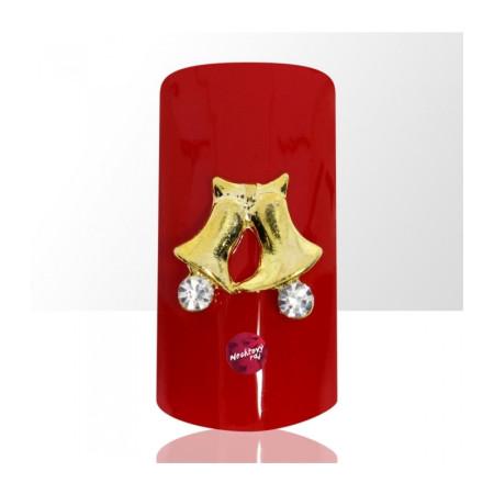 3D zvončeky 6 ks NechtovyRAJ.sk - Daj svojim nechtom všetko, čo potrebujú