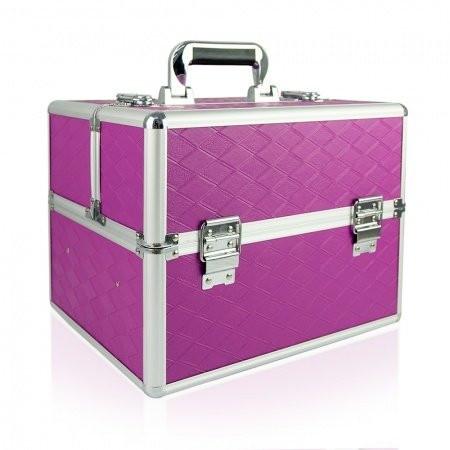 Kozmetický kufrík - fialový N05