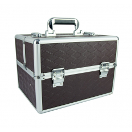 Kozmetický kufrík hnedý  N11
