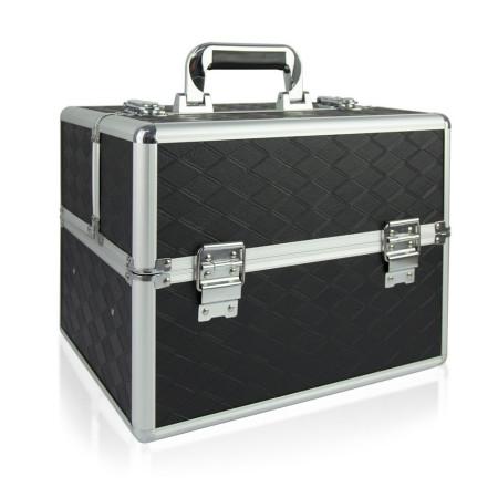 Kozmetický kufrík čierny  N12