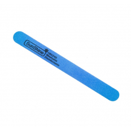 Pilník na nechty penový 180/240 rovný modrý