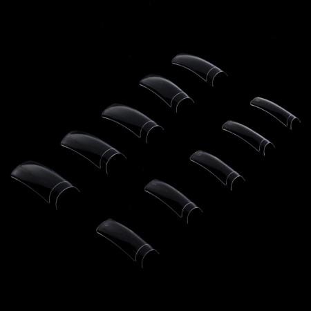 Priesvitné tipy 300 ks - krátka zarážka