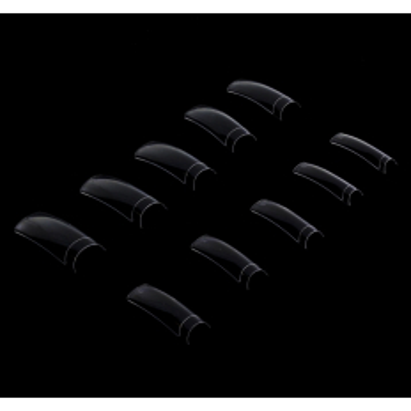 Priesvitné tipy 300 ks - krátka zarážka NechtovyRAJ.sk - Daj svojim nechtom všetko, čo potrebujú