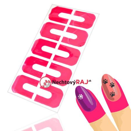 Ochranné nálepky na prsty - ružové