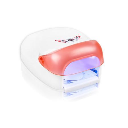 UV lampa na nechty NEO nail 36 W,so sušičkou - lososová