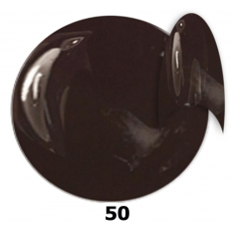 Gél lak NTN 50 hnedý