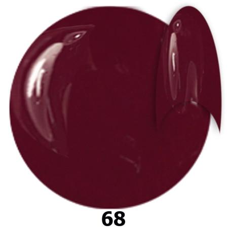 Gél lak NTN 68 bordový