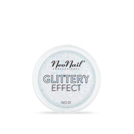 Glitrový prach Glittery Effect 01
