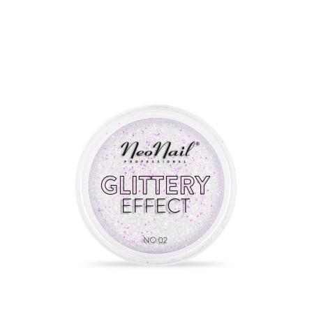 Glitrový prach Glittery Effect 02