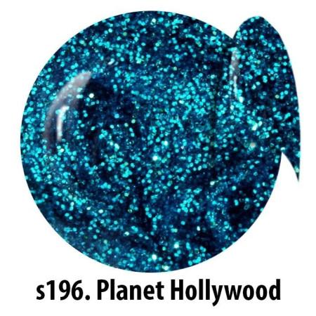 Farebný glitorvý uv gél NTN S196 5g NechtovyRAJ.sk - Daj svojim nechtom všetko, čo potrebujú