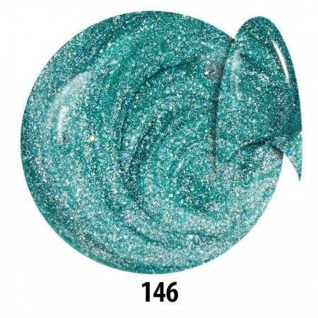 Farebný glitorvý uv gél NTN 146 5g